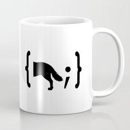 Full Stack Wolf - Front End / Back End Developer Dog Coffee Mug
