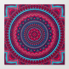 Hippie mandala 46 Canvas Print