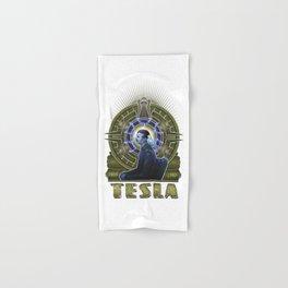 Nikola Tesla Hand & Bath Towel