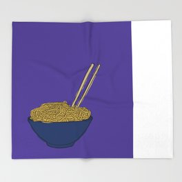 Noodle Bowl Throw Blanket