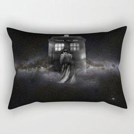 TARDIS DOCTOR WHO SPACE Rectangular Pillow