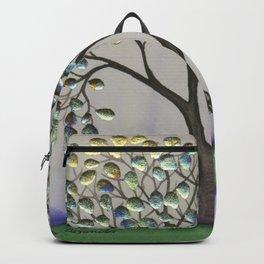 Prescott Whimsical Cat and Tree Backpack
