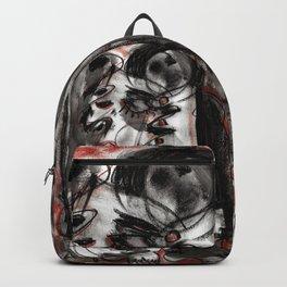 Shame - b&w Backpack