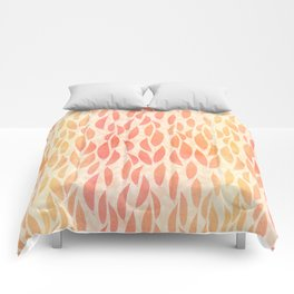 Watercolour Leaves Comforters