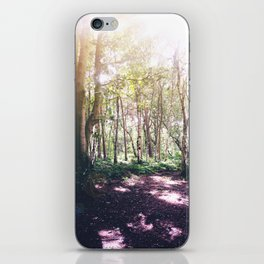 Forest Glare iPhone Skin