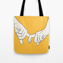 HANDS 5 Tote Bag