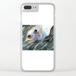 """Bluegill"" Clear iPhone Case"