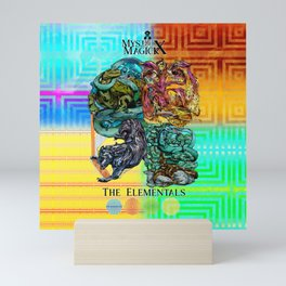 Mysticx & Magick: The Japanese Elemental Gods - Art Cover Mini Art Print