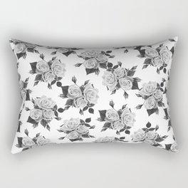 Light Roses Rectangular Pillow