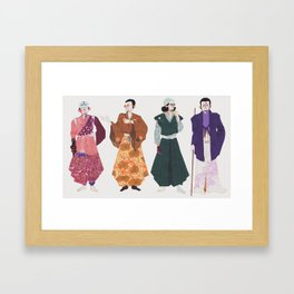 Kaigun Taishō Framed Art Print