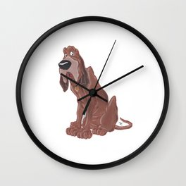 Trusty - Lady And The Tramp Wall Clock