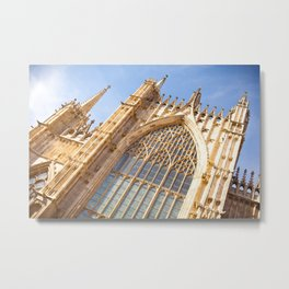 York Minster South Window Metal Print
