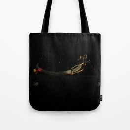 Turntable in the dark Tote Bag
