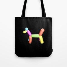 Dog Balloon Tote Bag