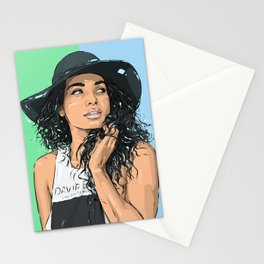 009 - Unknown portrait Stationery Cards