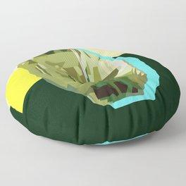 Olive Gem Floor Pillow