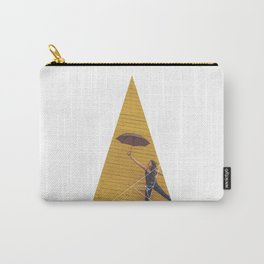 Air Umbrella Girl - Geometric Photography Carry-All Pouch