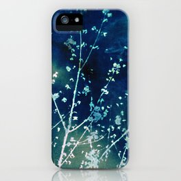 Scattered Spring Cyanatope iPhone Case