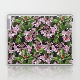 Floral insects pattern Laptop & iPad Skin