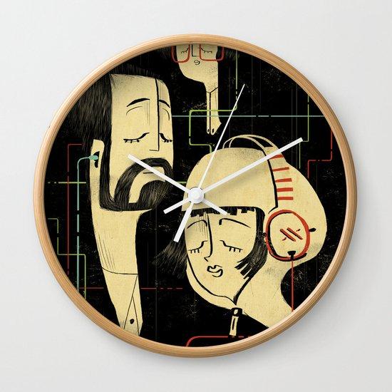 乐 Music v.2 / Vintage / Musicians Wall Clock