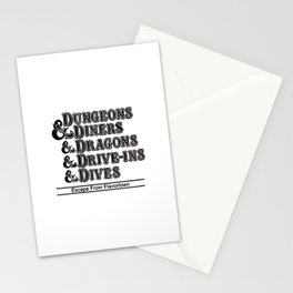 Dungeons & Dragons Stationery Cards