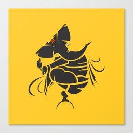 Lord Ganesha Mool Mantra Canvas Print