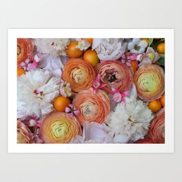 Flower Design 13 Art Print