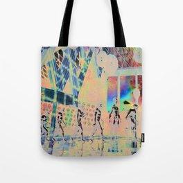 alien evolution Tote Bag