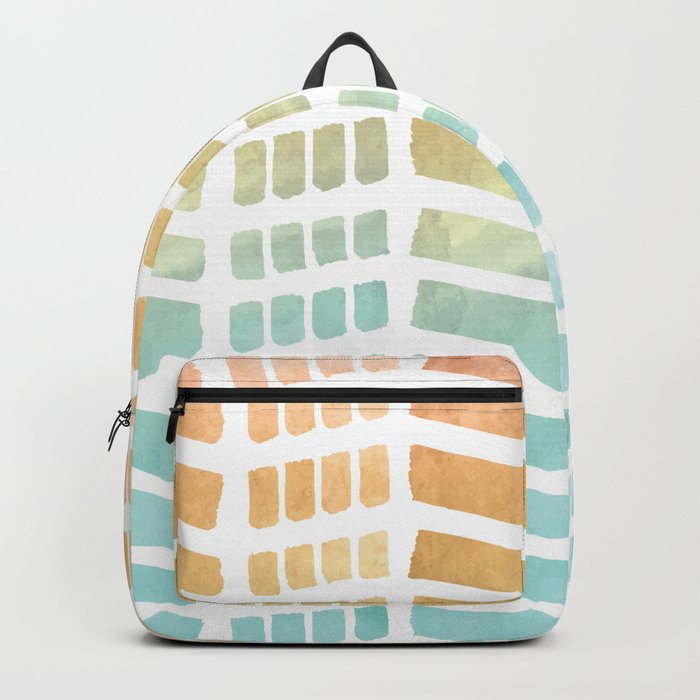 Gradient Boho Pattern Backpack