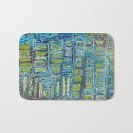 The windows and the city Bath Mat