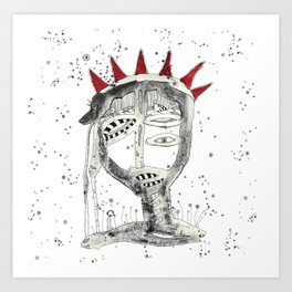 Chango 2 Art Print