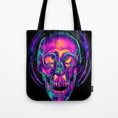 Trippy Skull Tote Bag