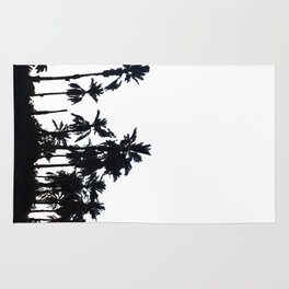 Date Palm Trees 3 Rug