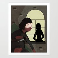 rogue Art Prints featuring Rogue by Matthew Benedetto