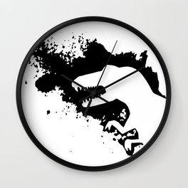 T-Rex Splash Wall Clock