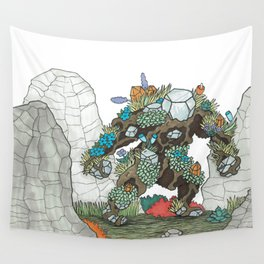 Walking Earth Wall Tapestry