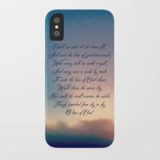 Love of God iPhone X Slim Case