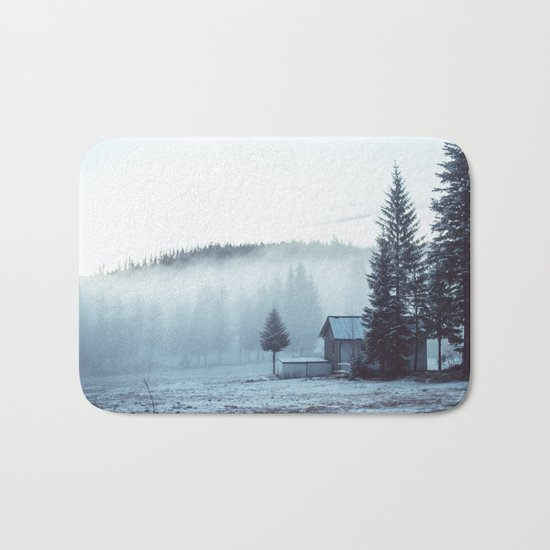 Foggy Memories Bath Mat