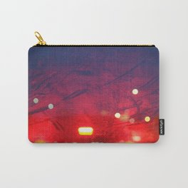 steamy car light bokeh Carry-All Pouch