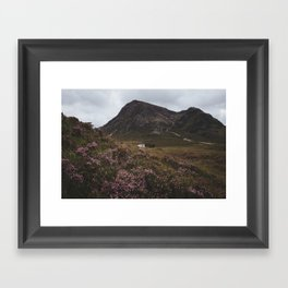 The moorland house - Landscape and Nature Photography Framed Art Print