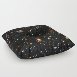 Hubble Extreme Deep Field Floor Pillow
