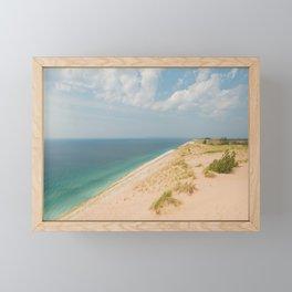 Summer at the Dunes Framed Mini Art Print
