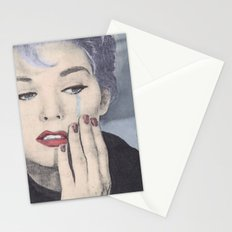 The tears of a mortal Stationery Cards