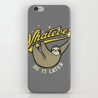 whatever iPhone & iPod Skins featuring Whatever by Mathiole