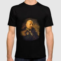 Bruce Willis - replaceface Mens Fitted Tee LARGE Black