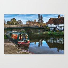 Hungerford Wharf Canvas Print