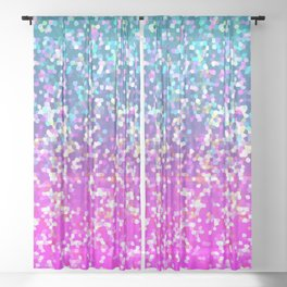 Glitter Graphic G231 Sheer Curtain