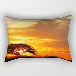 African sunrise Rectangular Pillow