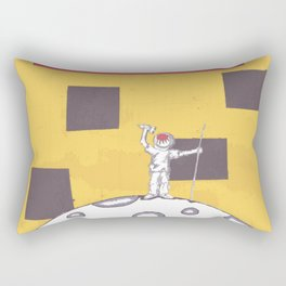 Moon Man Rectangular Pillow
