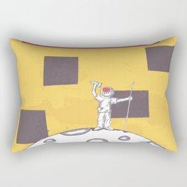 Moon Man Rectangular Pillow